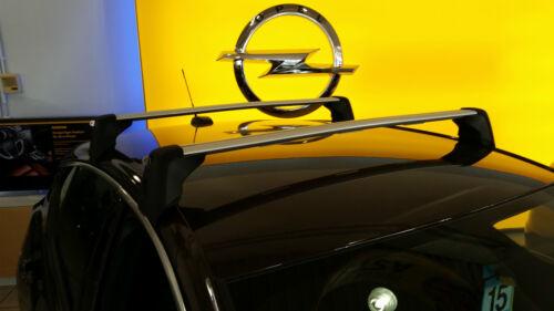 Satz Original Opel Astra K 5 türig Grundträger Basisträger Dachträger 13432540
