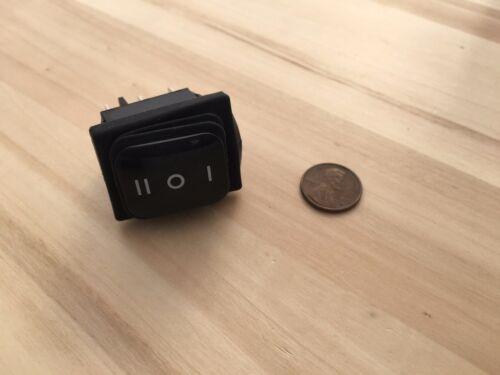 1 Pièce Imperméable 20 Amp ON//OFF//ON Rocker Switch 6 Pin 12 V DPDT C36
