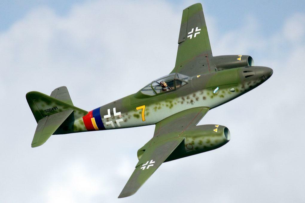 Freewing Messerschmitt Me 262  Amarillo 7  V2 Twin 70mm Edf Jet-PNP
