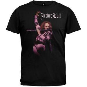 Amical Jethro Tull T-shirt Flute Size S Official Merchandise Promouvoir La Production De Fluide Corporel Et De Salive