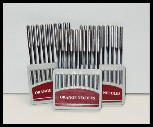 30 EACH 135X17 BROTHER B797 NEEDLE FEED  NEEDLES #20