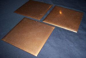 3 Coppertone Plastic Tile 4 14 Bath Or Kitchen Wall Polystyrene