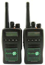 KENWOOD TK3140 UHF 4 WATT WALKIE-TALKIE TWO WAY RADIOS x 2