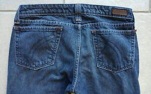 x Vintage 33 Vintage Dark Denim Jeans 8l Femme Straight Fossil Sz CZRqz