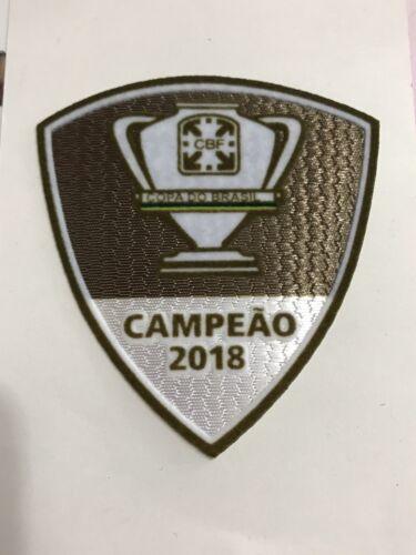 2018 Copa Do Brazil Cruzeiro Esporte Clube Soccer league patch champion badge