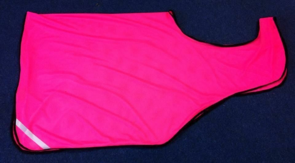 Wrap Around Exercise Fleece Rug Heavy Heavy Heavy Or Light Weight Hi Viz & Plain Colours 13344c