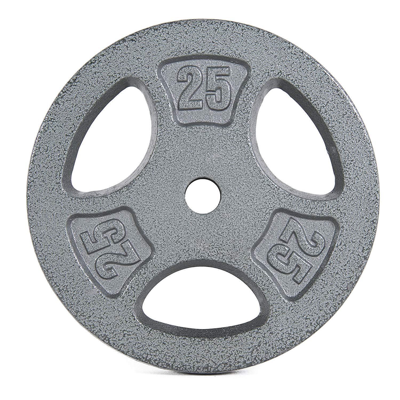 4 pcs 10 lb (environ 4.54 kg) Standard Grip plaque pour 1  bar Poids Plaques Gym Fitness Maison Cap