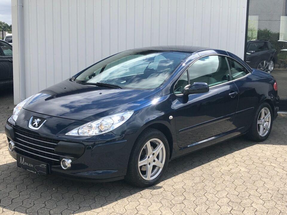 Peugeot 307 1,6 16V CC Benzin modelår 2006 km 163000