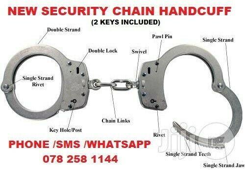 New Security Chain Handcuff at R250 each