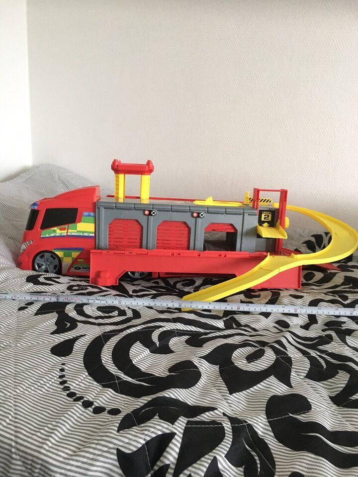 Brandbilstation, Top toy