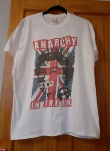 Anarchy In The Uk T Shirt By Gildan Xl
