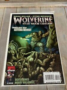 Wolverine-69-Old-Man-Logan-book-4-First-1st-Print-Marvel-Comics-NM-OOP-Nice