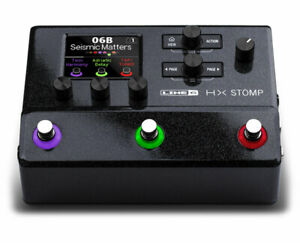 line 6 hx stomp compact multi effects unit featuring helix effects used 614252306973 ebay. Black Bedroom Furniture Sets. Home Design Ideas