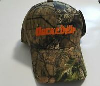 Ducked Up Camo Logo Duck Hunting Hat Dynasty Hunter Shotgun Mossy Oak