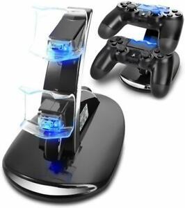 Contrôleur Chargeur Pour Playstation 4 Dualshock Dock Chargeur Stand Support Pour Ps4-afficher Le Titre D'origine