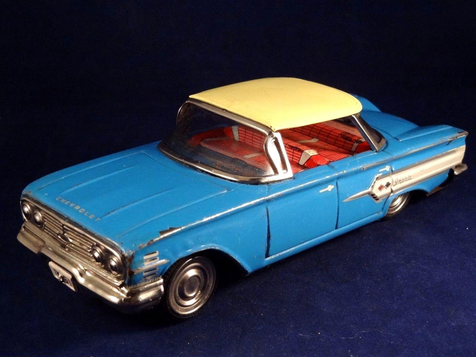 Ancien jouet jouet jouet tôle voiture Chevrolet IMPALA IK-61 Made in Japan années 50 de6c85