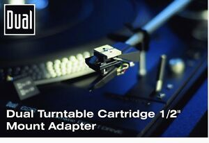 Dual-Turntable-Cartridge-1-2-034-Mount-Adapter-New