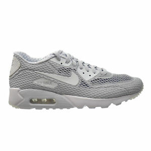 timeless design 5755e ed480 Details about NIKE AIR MAX 90 ULTRA BR PLUS Sz 10  PLATINUM--WHITE(810170-001)95 97 1 vapormax