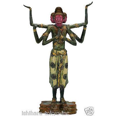 Asura (Replica) Bronze Buddha Statue : Japan's National Treasure Lacquer Finish
