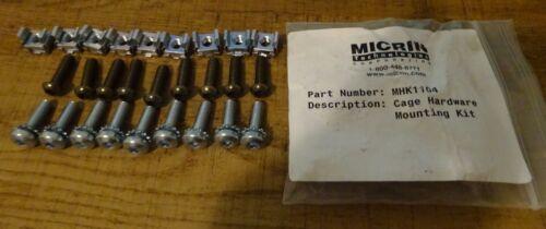 M6 Cage Nut Screw Kit Square Hole MHK1104 Server Rack Mount Server Cabinet 9