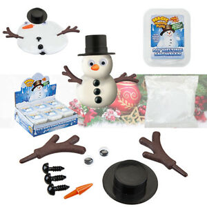 Details about Magic Melting Putty DIY Snowman Watch It Melt Christmas  Stocking Filler Toy Gift