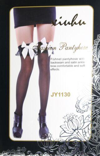 Cuissardes femmes hold up stockings socks overknee high bows fancy dress 1130