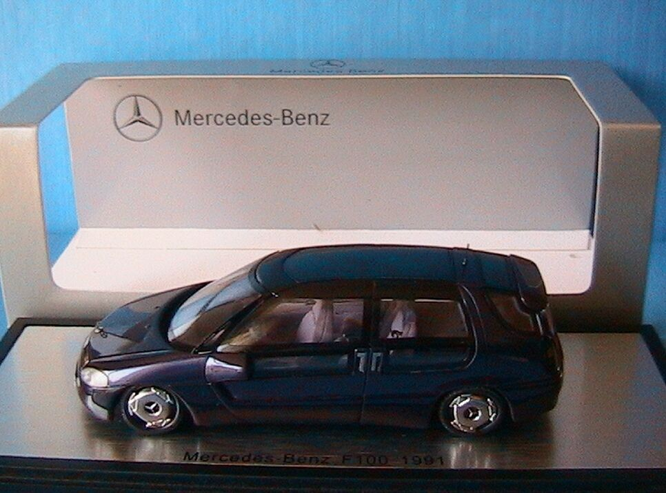 MERCEDES BENZ F100 IAA FRANCFORT 1991 purple SPARK B6 604 0530 1 43 CONCEPT CAR
