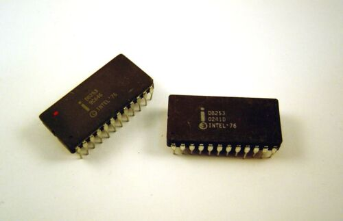 D8253  INTEL Microprocessor Peripheral Timer Lot of 1