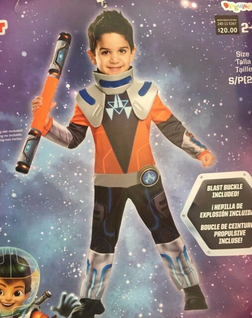 Classic Miles CHILD Costume Size 3T-4T NEW From Tomorrowland