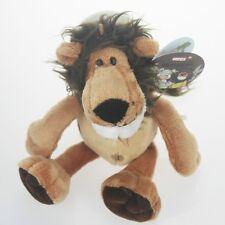 lovely brown hair lion Stuffed Animals soft toys plush doll 25 CM bg