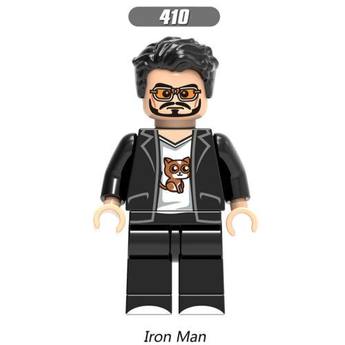 Avengers Minifigures Marvel DC Infinity War Endgame Iron Man Thor Hulk Loki Odin