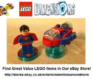 Genuine-LEGO-Dimensions-Superman-DC-Comics-Fun-Pack-71236-Premium-eBay-Trader