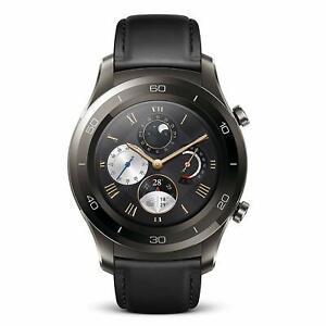 Huawei Watch 2 Classic Smartwatch 4GB Storage | IP68 - Titanium Grey