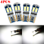 4Pcs-Canbus-T10-3030-12SMD-LED-4000K-Cool-White-Car-Side-Light-720LM-Bulbs-NEW miniature 1