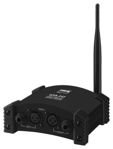 B-Ware IMG WSA-24T Stereo Funk Sender 2,4 GHz Musikübertragung FHSS-Technologie