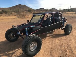 Supercharged Street Legal 4 Seat Sandrail Dune Buggy Rzr Utv Manx