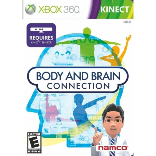 Body and Brain Connection Xbox 360 KINECT NEW SEALED
