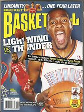 Beckett Basketball Monthly Kevin Durant Oklahoma City Thunder on April 2013