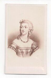 Vintage-CDV-Jeanne-Becu-Comtesse-Du-Barry-Mistress-Louis-XV-E-Neurdein-Photo