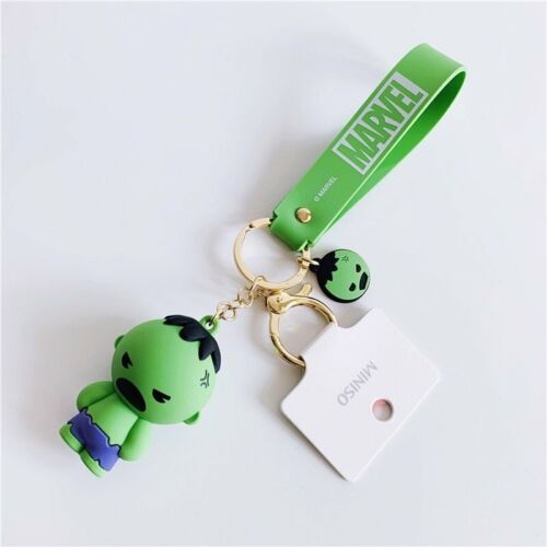 Miniso X Marvel Authentic Avengers Spider Man Captain America Iron Man Key Chain