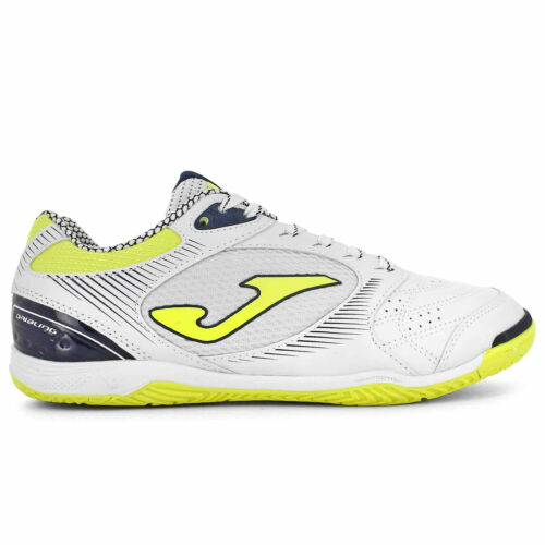 Nouveau Joma Indoor Chaussures Dribling 902 Blanco White Fluor soccer futsal Hommes 8.5
