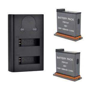 Battery-Kit-for-DJI-Osmo-Action-Camera-AB1-1300mAh