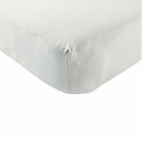 Grey Touched By Nature Boy and Girl Organic Cotton Fitted Crib Sheet
