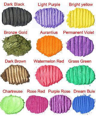 Soap Cosmetic Colorant DIY Natural Mineral Mica Powder Pigment Soap Bath Dye 10g