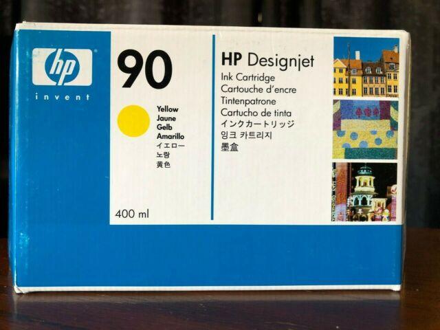 C5065A Genuine HP 90 YELLOW Ink Toner 400ml Cartridge HP DesignJet 4000 4500
