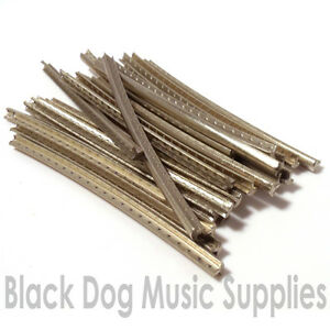 Guitar fret wire nickel silver 24 pcs 60mm long choice of gauge  / fretwire