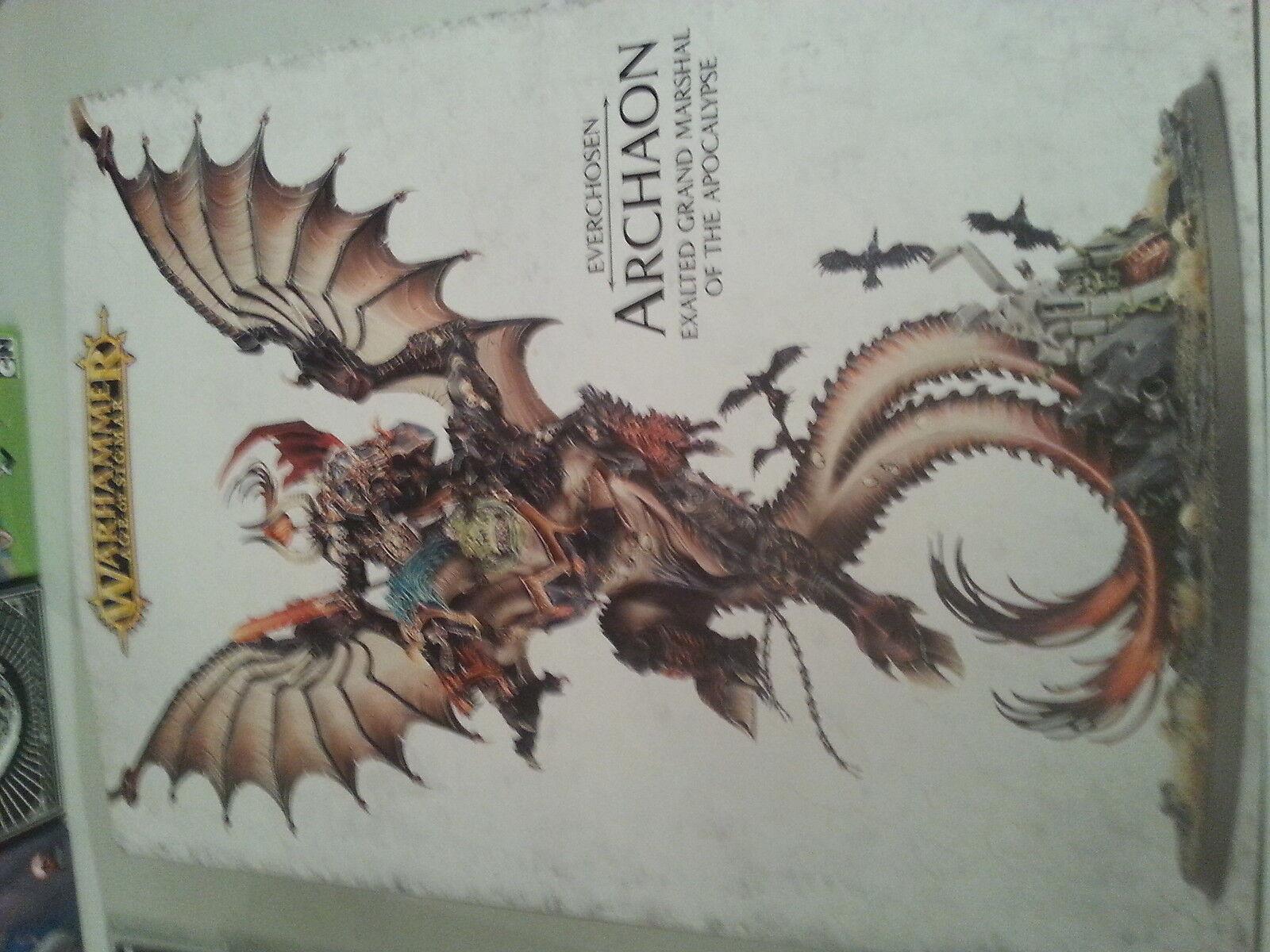 a la venta Warhammer Warhammer Warhammer edad de Sigmar everchosen Archaon-Nuevo y Sellado  de moda