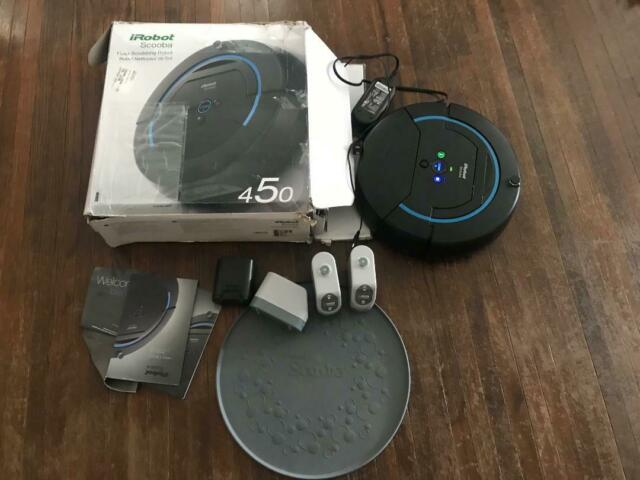 iRobot SCOOBA 230 Floor Washing Robot FOR PARTS OR REPAIR unit only NOT TESTED