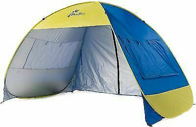 best sneakers ebe91 9d393 Shade Shack Instant Pop Up Family Beach Tent and Sun Shelter for sale  online | eBay