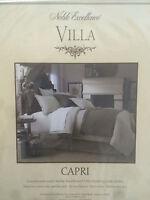 $69.00 Noble Elagance Villa King Bed Skirt carpi Khaki Gray Clr Cotton Nwts